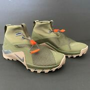Nike Metcon X Sf Outdoor Training Shoes Men 6.5 Bq3123-208 Olive Sepia Stone New