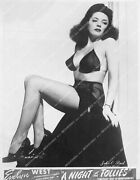 Crp-11820 1940and039s Burlesque Dancer Evelyn West The Hubba Hubba Girl Sexy In Fishn