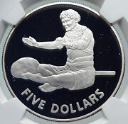 1979 Kiribati Independence From Uk Vintage Proof Silver 5 Dollar Coin Ngc I86024