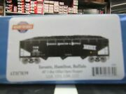Athearn 7039 Ho Thandb 40 Ft 3 Bay Offset Hoppers With Loads 4 Pack 2