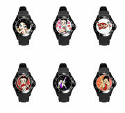 Anime Betty Boop Color Styles Plastic Soft Rubber Wrist Watch