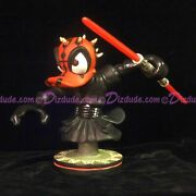 Ray Park Autographed Star Wars Actor Sculpture Disney Donald Darth Maul Bust Le