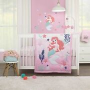 Disney Baby Ariel Cute By Nature 6-piece Crib Bedding Set - See Details ✨