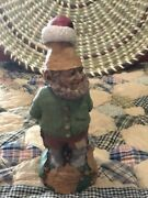 Tom Clark Tim Wolfe Gnomes Father Christmas Signed Exc Store Display B