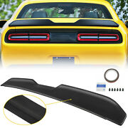 For 2008-2017 Dodge Challenger Demon Style Painted Black Rear Wing Trunk Spoiler