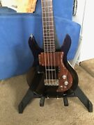 Ampeg Dan Armstrong Smoke Lucite Bass - Reissue 1990and039s - No Reserve