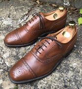 Menandrsquos Cheaney Brogues And039markand039 Shoes Brown Leather - Uk 8 Work Business Weddings