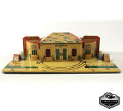 Vintage Antique 1930s Marx Grand Central Station Tin Litho Toy