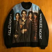 Undercover By Jun Takahashi Television Marquee Moon Bomber Jacket Sz 4 Xl Frank