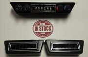 Gen 2 Vintage Air Rotary 4-knob Controller And Under Dash Vents Rectangle