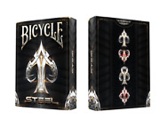 Super Rare Sealed Bicycle Steel Playing Cards Limited Deck By Cardicians