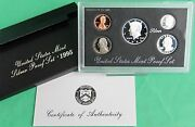 1995 United States Mint Annual 5 Coin Silver Proof Set