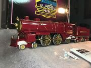 Mth Ives Std. Gauge 10-1143-1 Ives Red 4-4-2 Steam Andw/ Protos-2.0 Slightly Run