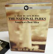Ken Burns The National Parks Americas Best Idea Dvd 6-disc Set W/ Slip Case