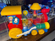 Vintage 1982 Playworld Toys Wind-up Plastic Train Toy Working 6656