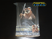 In Stock Hot Toys Mms550 Wicket Star Wars Return Of The Jedi Unopened