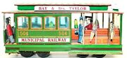 Contemporary Japanese Tin Lithographed San Francisco Trolley