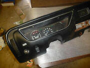 Opel Buick 1970and039s 1980and039s Black Dash Board Nice Condition Free Shipping