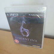 Ps3 - Resident Evil 6 New And Sealed Uk Pal Version