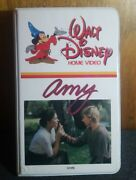 Rare Vintage Walt Disney Home Video - Amy Vhs Clamshell 1981 Tested And Works