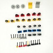 Lot Of 50 Lego Steering Wheel Lever Seat Cars Cleaned Sterilized
