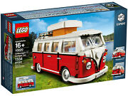 New Sealed Lego 10220 Volkswagon T1 Camper Van, Free Shipping