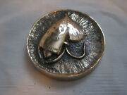 Asf 1992 Portland Dinner Cast Brass Fishing Fly Paper Weight Decourcy L Taylor
