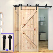 4ft 20ft Rustic Sliding Barn Door Hardware Track Kit For Single/double/bypass