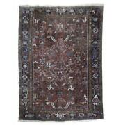 8x10 Authentic Hand Knotted Semi-antique Rug Pix-23391