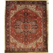 10x12 Authentic Hand-knotted Semi-antique Rug Pix-29190