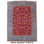10x14 Authentic Hand Knotted Oriental Rug B-80590
