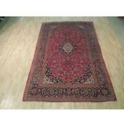 7x10 Authentic Hand Knotted Semi-antique Rug B-72137