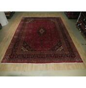 10x13 Authentic Hand Knotted Semi-antique Rug B-73550