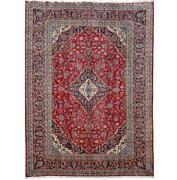 8x12 Authentic Hand-knotted Oriental Signed Rug B-81323