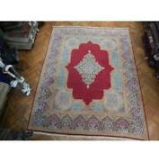 10x12 Authentic Hand Knotted Semi-antique Rug Pix-23606