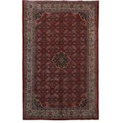 10x14 Authentic Hand-knotted Oriental Mahal Rug B-82276