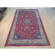 7x11 Authentic Hand Knotted Semi-antique Rug B-71948