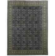 8x11 Authentic Hand-knotted Oriental Signed Rug B-81226