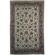 7x10 Authentic Handmade Signed Wool And Silk Tabrz Rug Pix-21994