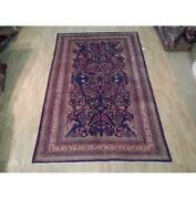 7x11 Authentic Hand Knotted Semi-antique Rug B-72039