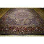 9x13 Authentic Hand Knotted Rug La-53327