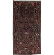 Fascinating 3x7 Authentic Hand Knotted Semi-antique Rug B-71246