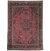 Fascinating 10x12 Authentic Hand Knotted Signed Rug B-71083