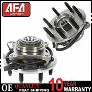 Pair 2 Front Wheel Hub Bearing For 2011 - 2014 Ford F-150 7 Lugs 4wd 2wd 513326