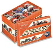 Lionel Trains Post-war Christmas Ornament Gift Boxes- New Sealed 24 And 14-pc Sets