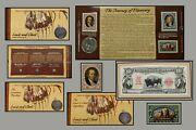 2004 Lewis And Clark Us Mint Silver Coinage And Currency Set One Dollar Coin 1