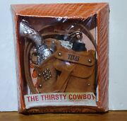 The Thirsty Cowboy Western Holster Set The Texas Gun 131 New