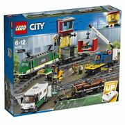 Lego 60198 City Cargo Train Remote Control Train Building Set New And Sealed