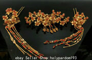 13.2 Important Ancient 19th Century Chinese Gilt Gems Dynasty Queen Headwear