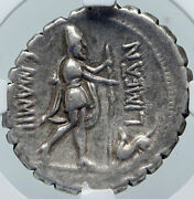Odysseus Returns From Odyssey To Dog 82bc Silver Roman Republic Coin Ngc I86174
